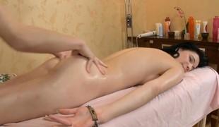 Skinny alluring housemaid is amazed down hawt sex