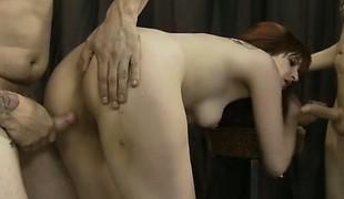 Hawt pornstar oral big O