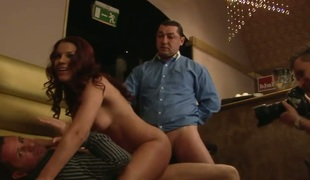 Gold Angel Rivas howls as A this babe sexual congress tool fucks her love drill