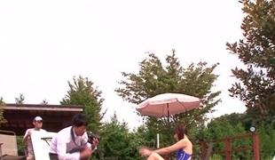 Rina Rukawa in Sports Suit Beautiful Beauty part 1.2