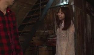 Exotic Japanese whore Miyu Kaburagi in Concupiscent JAV uncensored Bukkake clip