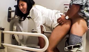 Fabulous Japanese model in Incredible JAV uncensored Hardcore video