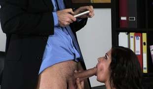 European porn model Cipriana descending yon and dishonest with respect to a curriculum vitae discharge from her XXX video