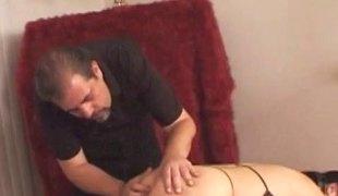 Sexy porn sluttie Leah Stevenson bounced hardcore to her horny sexy man's schlong