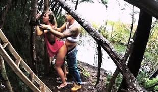 HelplessTeens Kaylee outdoor fleshly sex