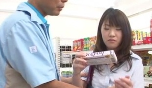 Asian hardcore molestation be advantageous to a young untalented schoolgirl