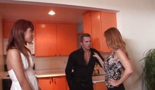 Audrianna Angel is caught messing meddle on touching a catch husband for Janet Mason