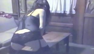 POV Teen Bride MILF, Pussy & Tit play Vintage VHS