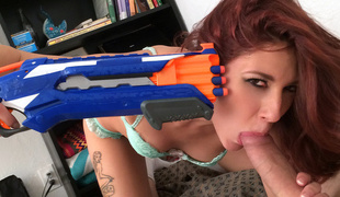 Ashlyn Molloy in Naughty Girlfriend Can't live without to Play - IKnowThatGirl
