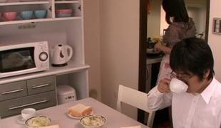 Crazy Japanese hottie Marina Isshiki in Best JAV censored Swallow, Shaggy movie