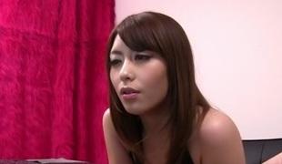 Fabulous Japanese honey Ayu Sakurai in Avid couple, college JAV scene