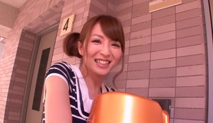 Hottest Japanese girl Miku Ohashi in Most good college, massage JAV clip