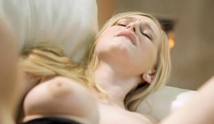 doggy position shafting someone's skin blonde and she likes it
