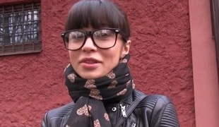 Mona in Russian Creampied Outdoors for Cash - PublicAgent