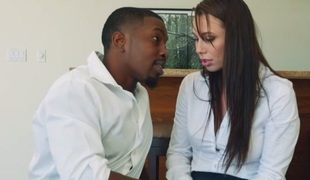 Aidra Fox in A Big Dark Dick For Aidra Fox - MonstersOfCock