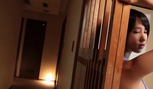 Horny Japanese chick Riku Minato in Incredible dildos/toys, college JAV movie