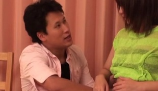 Luscious Japanese teen gets a hardcore fuck thither her bedroom