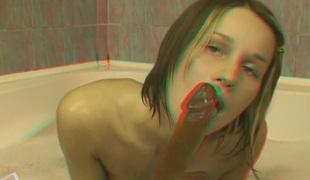 Masturbation in bath