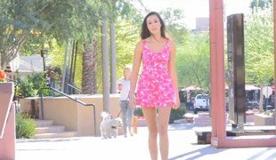 Superb teen toys the brush sweet fur pie and flashes with public