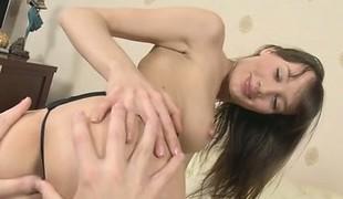 Cute incise cumshot tits