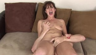 Raunchy brunette slut gets rammed so well by her personal tutor