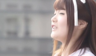 Best Japanese angel Miki Sunohara, Maya Kawamura, Rei Mizuna in Incredible fingering, college JAV movie