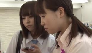 Hottest Japanese model Asahi Mizuno, Shizuka Hasegawa, Iku Natsumi, Ruka Kanae in Amazing outdoor, college JAV scene