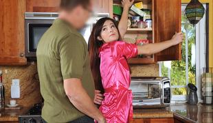 Avery Moon in Breakfast Surprise - DadCrush