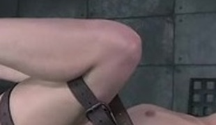 beautiful cute unspecific bound orgasm increased by squirting